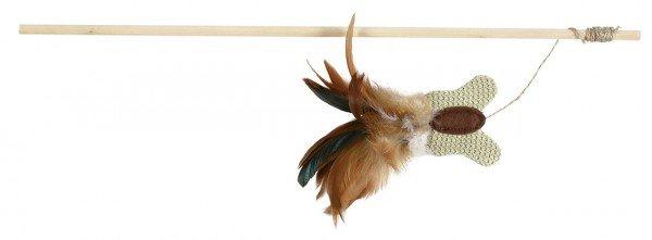 TRIXIE Spielangel mit Schmetterling 45 cm