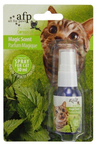 all for paws (afp) Green Rush Magic Minze zum Sprühen 30ml Katzenspielzeug