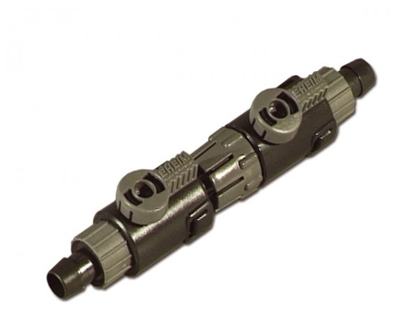EHEIM 4004412 Doppelhahn mit Schnellltrennkupplung für Schlauch ø12/16mm Zubehör