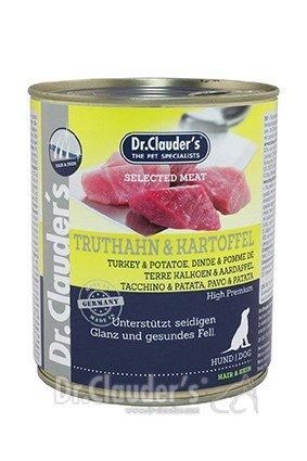 Dr. Clauder's Selected Meat Pro Hair & Skin 800g Dosen Hundenassfutter