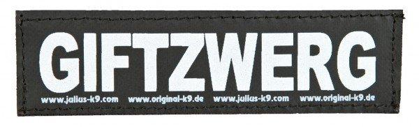 Julius-K9 Sticker Größe 1 Zubehör für Hundegeschirr