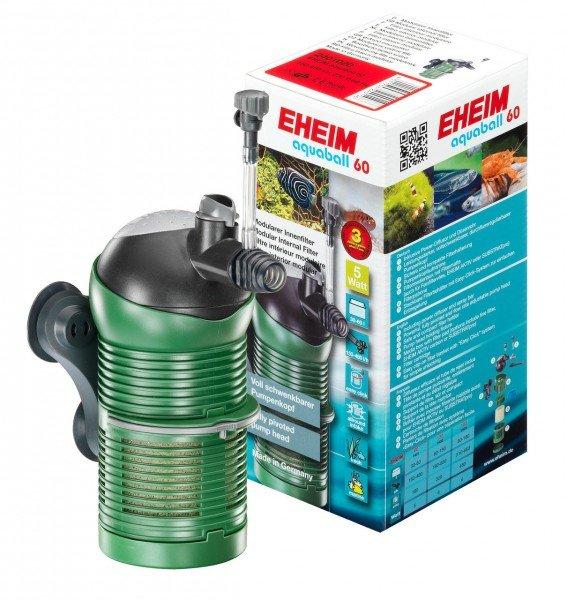 EHEIM 2401 aquaball 60 Innenfilter mit Filtermasse
