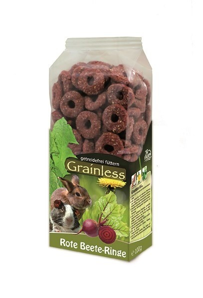 JR FARM Nager Grainless Rote Beete Ringe 100g Kleintiersnack