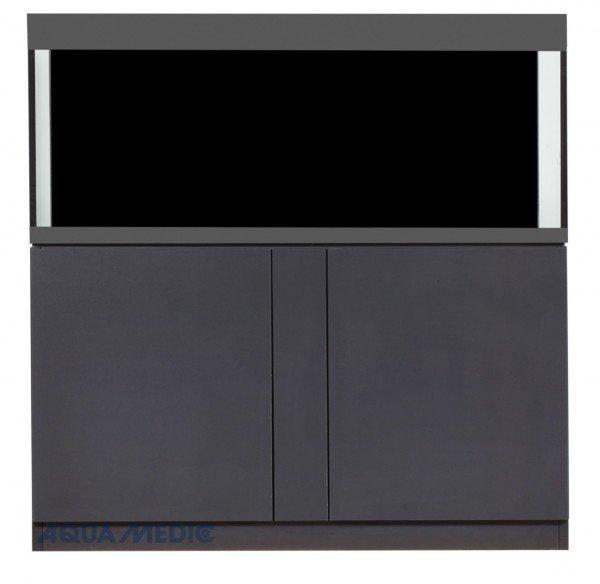 AQUA MEDIC Magnifica 130 CF Meerwasser-Komplettaquarium mit Unterschrankfiltersystem graphite-black