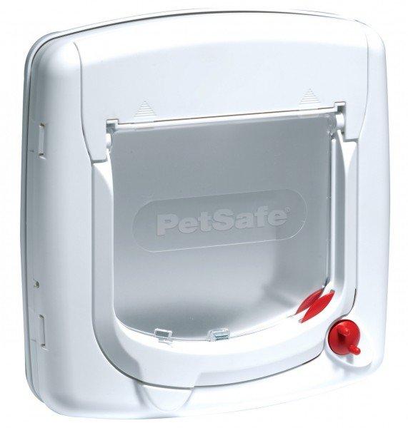 PetSafe Staywell Deluxe manuelle Katzenklappe weiß
