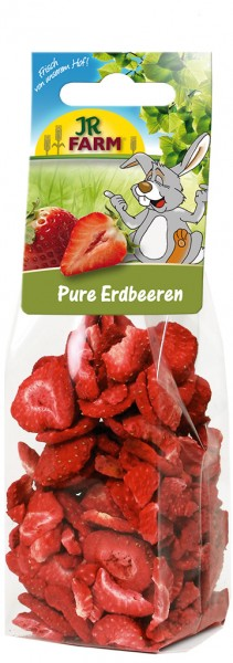 JR FARM Pure Erdbeeren 20g Kleintiersnack