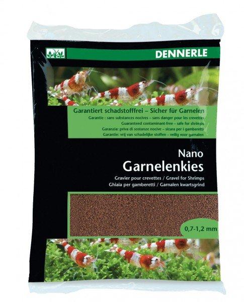 DENNERLE Garnelenkies Borneo braun 0,7 - 1,2 mm 2kg