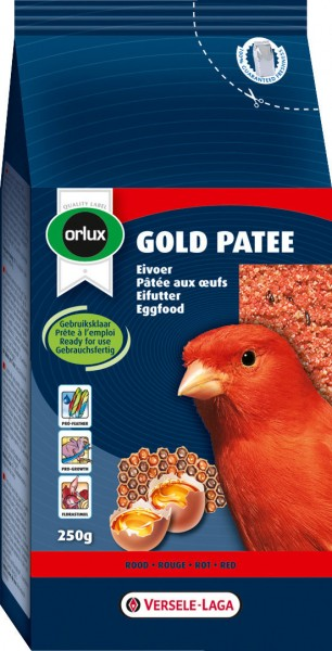 VERSELE-LAGA Orlux Gold Patee Rot 250g Vogelfutter