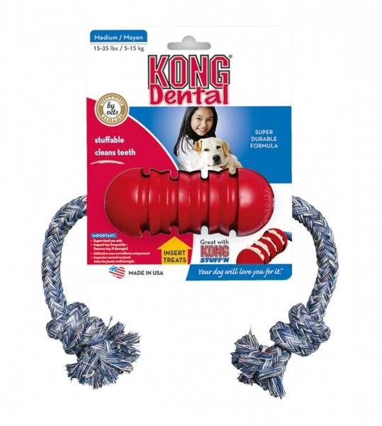 KONG Dental Rope S Hundespielzeug