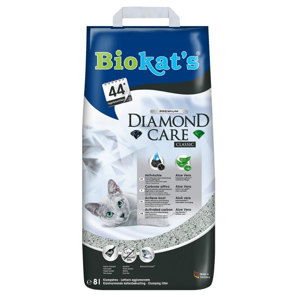 Biokat's Diamond Care Classic 8 Liter Katzenstreu
