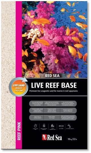 Red Sea Reef Pink Live Aragonite Sand 10kg Aquariensand