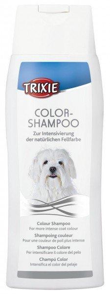 TRIXIE Color-Shampoo weiß 250 ml für Hunde