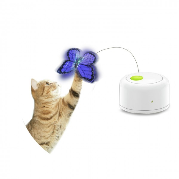 all for paws (afp) Motion Activated Butterfly Katzenspielzeug