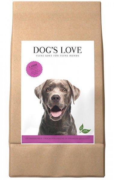 Dog's Love Lamm mit Süßkartoffel & Minze Hundentrockenfutter
