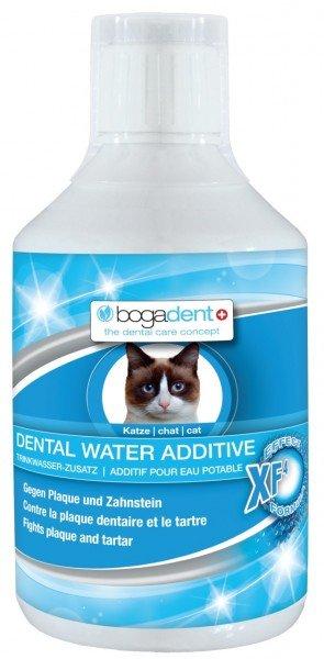 bogadent DENTAL WATER ADDITIVE 250ml Trinkwasser-Zusatz Zahnpflege Reinigungsmittel für Katzen