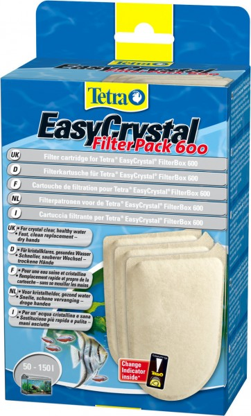 Tetra EasyCrystal Filter Pack 600 Filtermedium