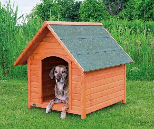 TRIXIE natura Hundehütte Cottage mit Spitzdach XL