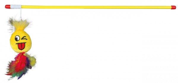 TRIXIE Spielangel mit Smiley 50 cm
