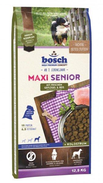 bosch Maxi Senior Geflügel & Reis Hundetrockenfutter