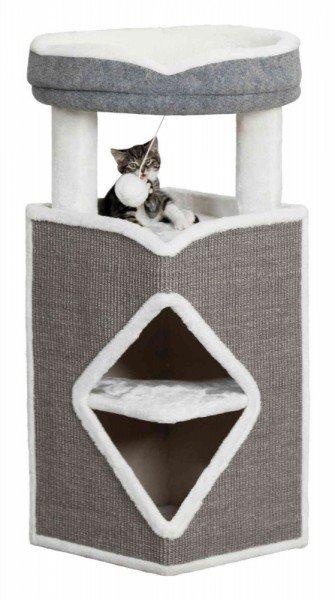TRIXIE Kratzbaum Cat Tower Arma 54x54x98cm grau/blau/grau