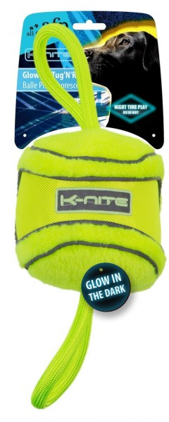 all for paws (afp) K-Nite Glowing Tug' N' Roll Hundespielzeug
