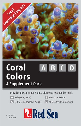 Red Sea Coral Colors Starterkit A, B, C & D