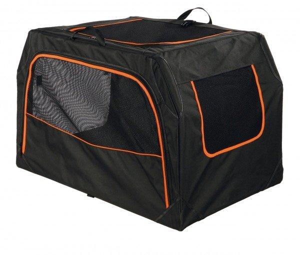 TRIXIE Transportbox Extend M 84 x 54 x 55 cm schwarz/orange