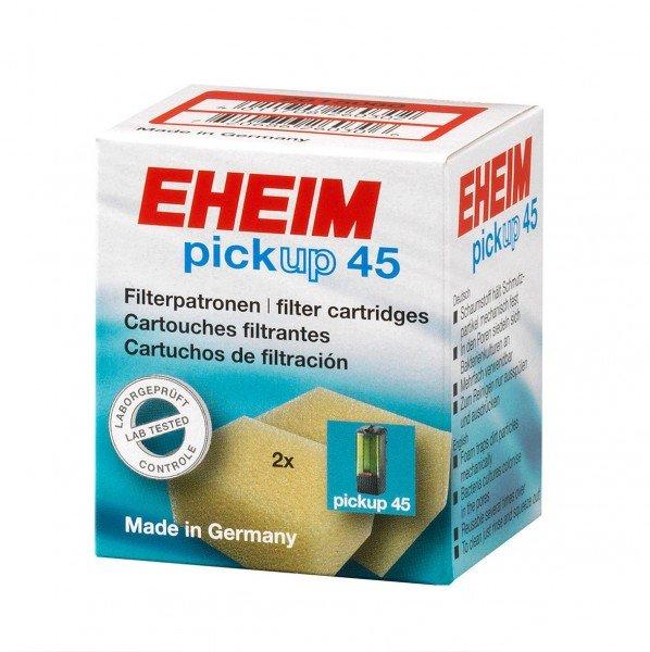 EHEIM 2615060 Filterpatrone (2 Stück) Filtermasse für pick up 45 (2006)