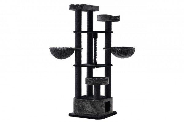 Nobby Kratzbaum Musan 70x70x203cm schwarz/grau