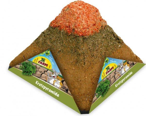 JR FARM Nager Kratzpyramide 400g Kleintiersnack