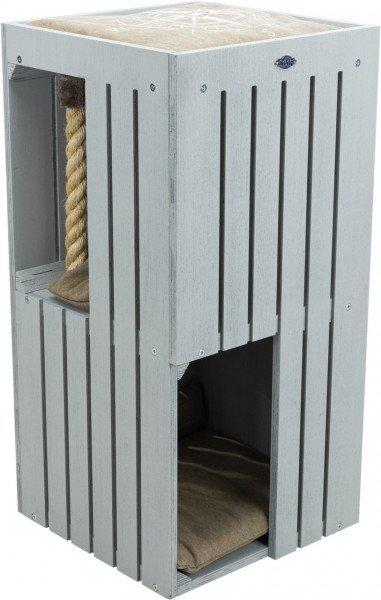 TRIXIE BE NORDIC Cat Tower Juna 77cm grau