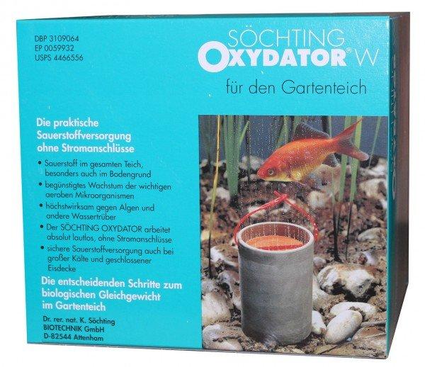 Söchting Oxydator W Teichbelüfter für Gartenteiche bis 4.000 Liter