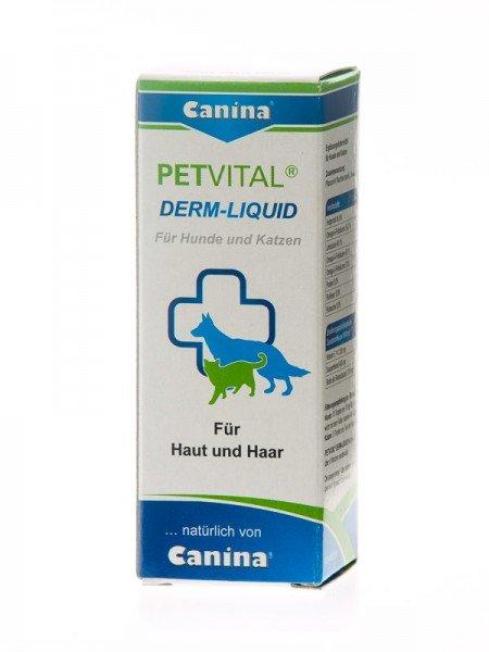 Canina Petvital Derm-Liquid 25ml für Hunde und Katzen