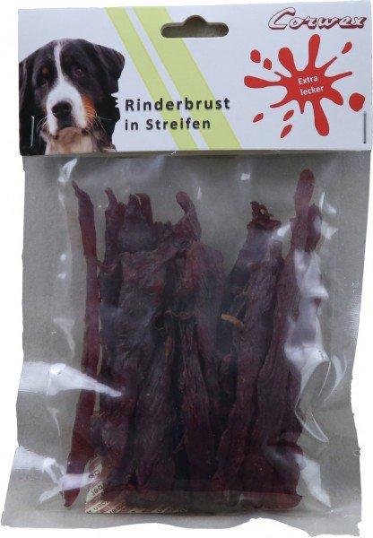 Corwex Rinderbrust in Streifen Hundesnack
