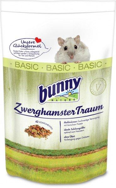 Bunny ZwerghamsterTraum 600g Kleintierfutter