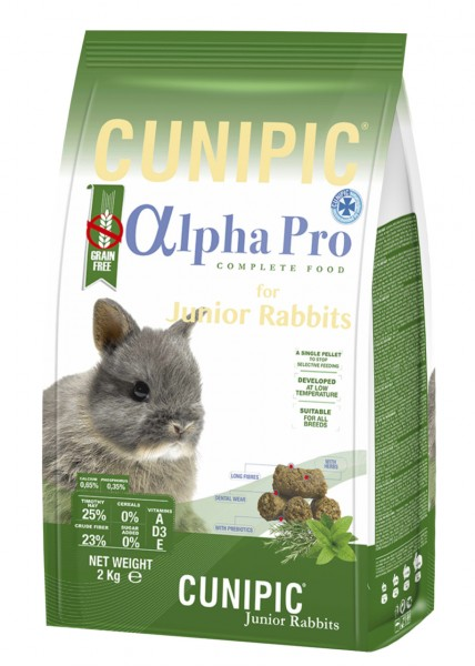 CUNIPIC AlphaPro Junior Rabbit Kaninchenfutter