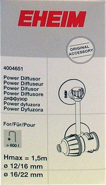 EHEIM 4004651 Diffusor für ø12/16, ø16/22mm Zubehör für für 2036, 2048, 2071/73, 2171, 2215/17, 2226