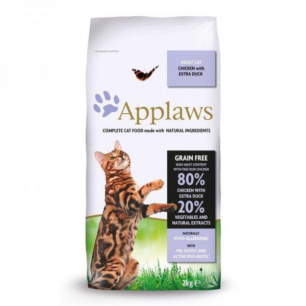 Applaws Cat Huhn & Ente Katzentrockenfutter